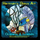Stained Glass Patterns Oceans & Islands