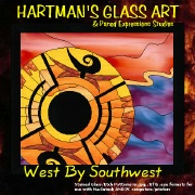 Stained Glass Patterns West by Southwest