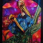 Our Stained Glass Design Featured in Machine Quilting Unlimited