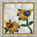 Last Call: The May-June 2016 Free Monthly Stained Glass Pattern – Butterflies