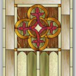 "January 2017 Free Monthly Stained Glass Pattern: ""Celtic Knot Window"""